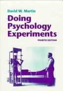 Download Doing psychology experiments
