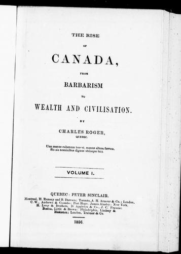 Download The rise of Canada
