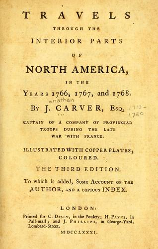 Download Travels through the interior parts of North America