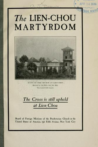 Download The Lien-Chou martyrdom