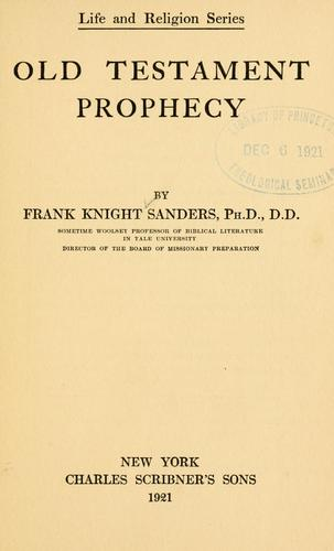 Download Old Testament prophecy