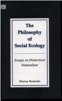 Download The Philosophy of Social Ecology