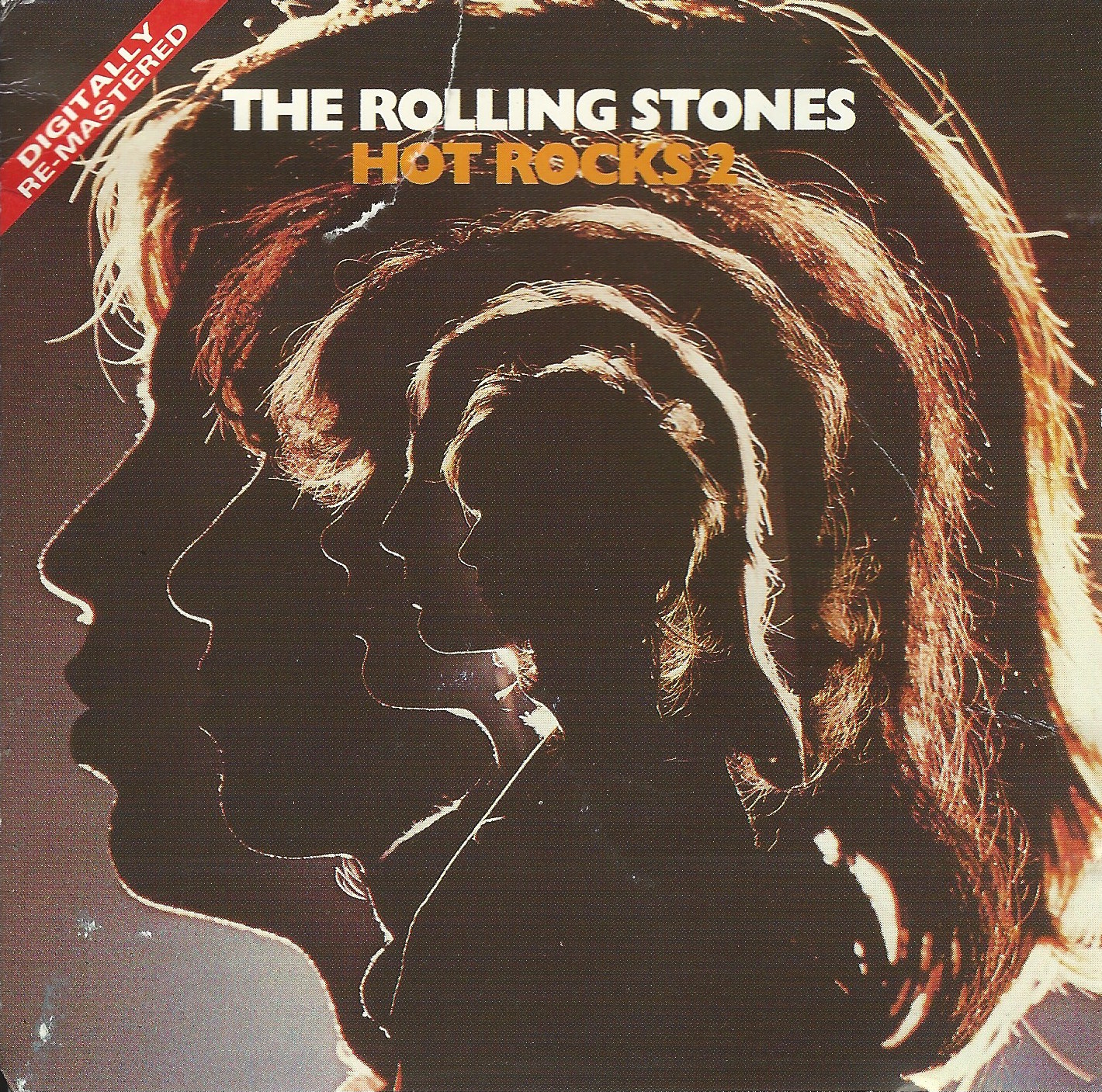 The Rolling Stones 'Hot Rocks 1964-1971' | Rolling stones ...  |Rolling Stones Hot Rocks Album Cover