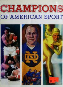 Cover of: Champions of American sport | Marc Pachter