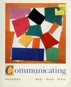 Cover of: Communicating by Roy M. Berko