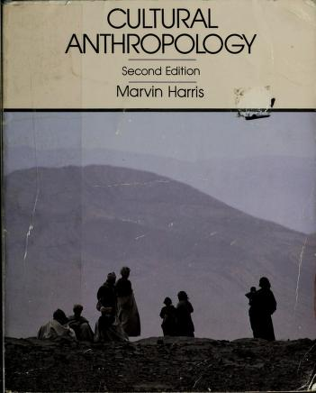 Cover of: Cultural anthropology | Marvin Harris