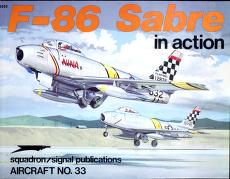 Cover of: F-86 Sabre in Action - Aircraft No. 33 | Larry Davis