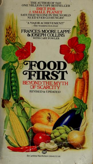 Cover of: Food first | Frances Moore Lappé