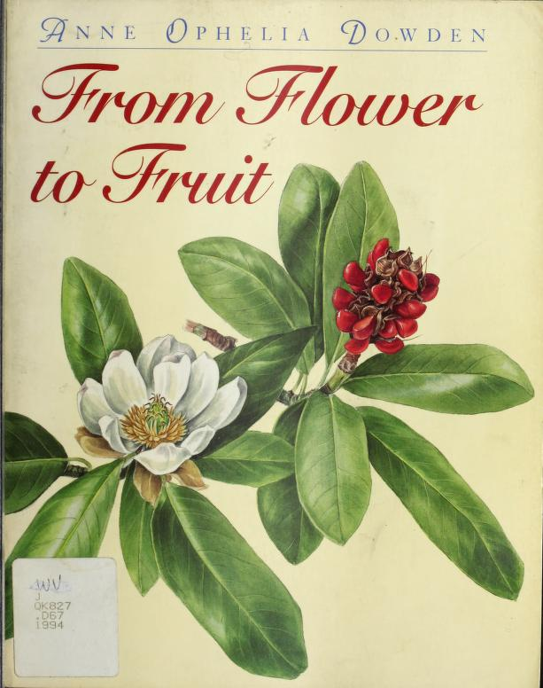 FROM FLOWER TO FRUIT PA by Anne Ophelia Dowden