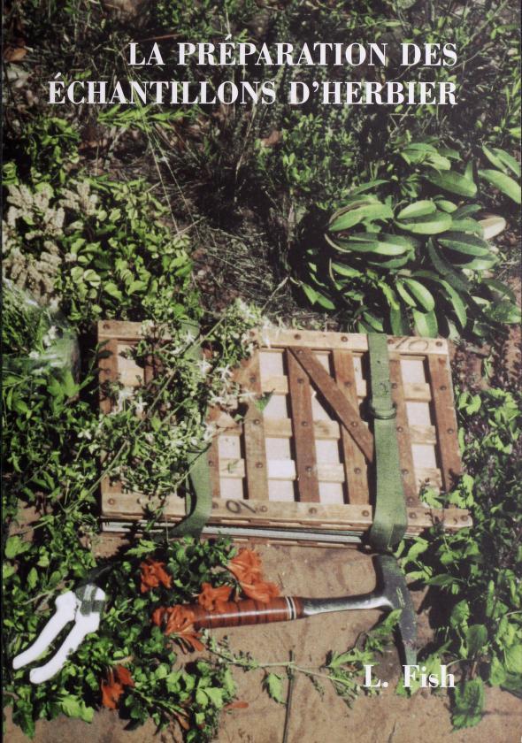 La préparation des échantillons d'herbier by Lyn Fish