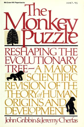 Cover of: The monkey puzzle | John R. Gribbin