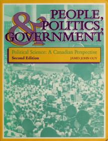 Cover of: People, politics, and government | James John Guy