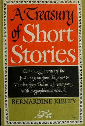 Cover of: A treasury of short stories   Bernardine Kielty