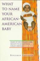 What to name your African-American baby