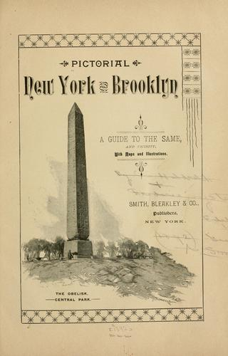 Pictorial New York and Brooklyn by