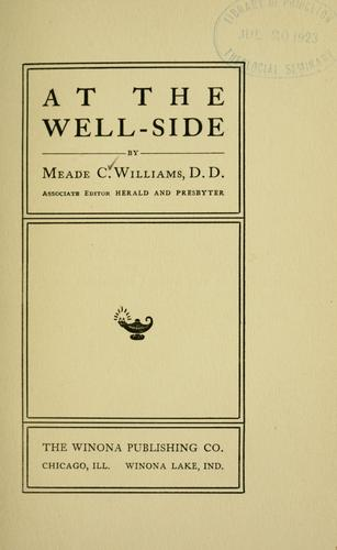 At the well-side by Meade Creighton Williams