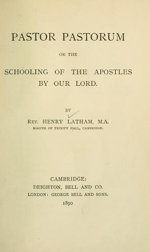 Pastor pastorum